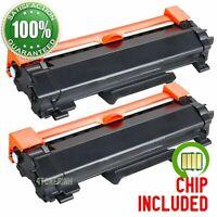 2PK TN760 Toner Cartridges for Brother MFC-L2710dw HL-L2730DW MFC-L2750DW TN730
