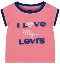 Levi's Baby Girls' Graphic T-Shirt, Strawberry Pink, 12M