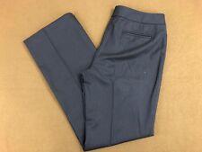 Women's Ann Taylor Dark Blue Striped Dress Pants Size 6