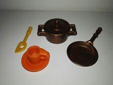 Playmobil 1989 Victorian Kitchen/cocina Ref.5322  Cookware,Utensilios de cocina
