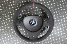BMW E82 1M E90 E92 E93 M3 Steering Wheel Alcantara Red Ring