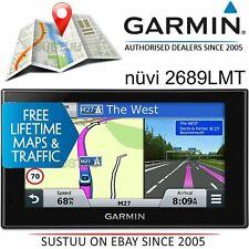 Garmin Nuvi 2689LMT 6'' GPS SatNav¦Free UK EUROPE lifetime Map & Traffic Updates