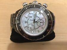 Swiss Legend Men's Karamica Black Ceramic Chronograph Watch MSRP $500.00!!!!!