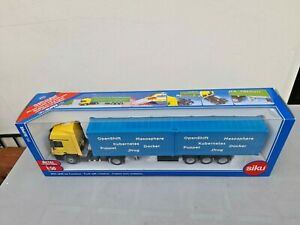 SIKU Mercedes Benz Actros Truck with Container Trailer 1/50 scale  SEALED BOXED