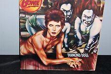 David Bowie Diamond Dogs LP VG++1-0576 1974 W/Fan Club Insert