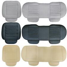 Auto Sitzauflage Sitzkissen Vordersitze Rücksitz Sitzmatte PU Leder Sitzbezüge