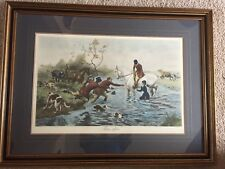 ALFRED WILLIAM STRUTT THREE OFFERS ENGRAVING OR LITHOGRAPH HORSES FRAMED PRINT