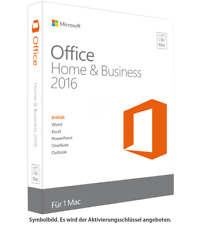 Microsoft Office Home and Business 2016 für Mac MS Office HB 2016