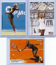 """3"" SERENA WILLIAMS 2003 TENNIS ""1ST EVER PRINTED"" ""3"" CARD ROOKIE LOT! MINT!"