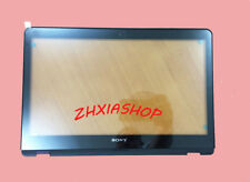 """NEW Sony VAIO SVF15A15CXB SVF15A16CXS 15.5"""" Touch Screen Digitizer Glass+Bezel"""