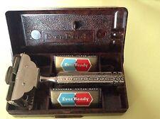 Vintage Ever Ready Safety Razor Set Bakelite Box/Blades