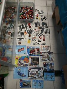 Lego Parts Pieces & Instruction Mauals Lot Battery Operated Train City Spongebob