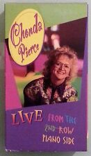 chonda pierce  LIVE FROM THE 2ND ROW PIANO SIDE  VHS VIDEOTAPE