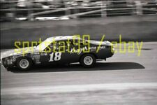 1973 Joe Frasson #18 - NASCAR Daytona 500 Qualifier Race #2 - Vintage Negative