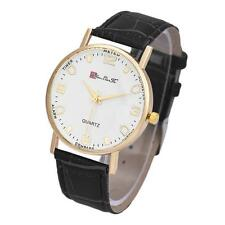 2015 Fashion Business  Watch Men Faux  Leather Analog Quartz Wrist Watch Gifts