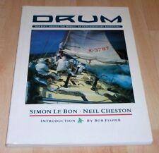 DURAN DURAN Simon Le Bon - Drum Original 1986 Yacht Sailing Boat Book GIFT IDEA