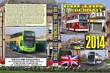 2942. Bolton & Rochdale. UK. Buses. September. 2014. An old bus station near the