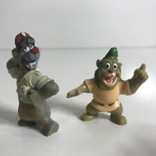 VINTAGE EARLY 1990S WALT DISNEY - TALE SPIN - FIGURINES - KELLOGS CEREAL PROMO