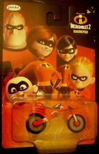 Jakks incredibles 2 elasticycle diecast toy motorcycle new on card rare NEW