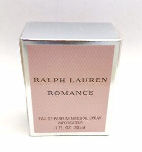 NEW RALPH LAUREN ROMANCE 30ml EDP SPRAY WOMEN'S DISCONTINUED PERFUME