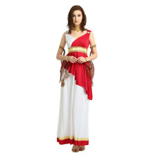 The Greek style Women's White&Red Skirt Costume Cosplay Halloween Party Outfi
