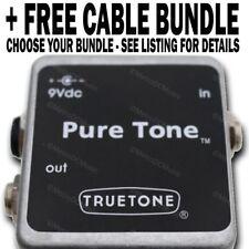 Truetone PureTone Buffer Pure Tone Pedal + FREE CABLE BUNDLE YOUR CHOICE
