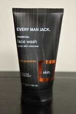 Every Man Jack Charcoal Face Wash ~ Salicylic Acid Acne Treatment Cleanser 5 oz