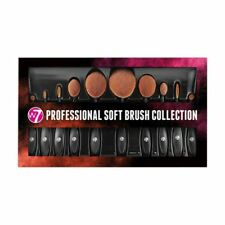 W7 Professional Soft Brush 10 Piece Collection Cosmetics Make up Gift Set Beauty