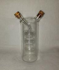Oil & Vinegar Bubble Glass Cruet