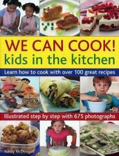 We Can Cook! Kids in the Kitchen, Nancy McDougall, Good Condition Book, ISBN 178