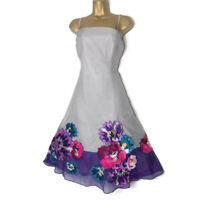 Cornflower Light Blue Pansy Flower Hair Comb Bridesmaid Wedding Fascinator 5450