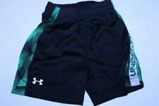 Toddler Boys Under Armour Sz 3T Black & Green Shorts
