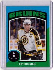 RAY BOURQUE 14/15 OPC O-Pee-Chee #ST-46 Retro Sticker Insert Boston Bruins Card