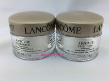 Lot of 2: Lancome Absolue Premium Bx Sunscreen SPF15 Day Cream total 15g*2=30g