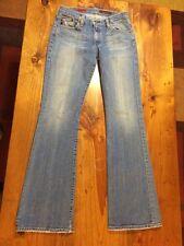 Women's Distressed Adriano Goldschmied Angel Bootcut Jeans Size 29 Regular
