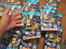 STAR FOX ZERO NINTENDO WII U BONUS GAME STARFOX GUARD AUTHENTIC NEW SEALED