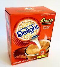 International Delight Reese's Peanut Butter Cup Creamer Cream Singles 24 Ct