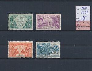 LO18556 Niger 1931 colonial expo fine lot MNH cv 35 EUR