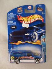 Hot Wheels   2003-138 -  Dodge Ram 1500  Blue  NOC  1:64 Scale  (618)  57134