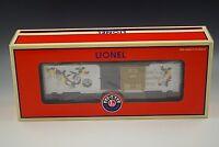 LIONEL 2005 LRRC CHRISTMAS BOX CAR 6-29931 O GAUGE  NEW IN BOX