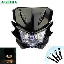 Universal Motorcycle Supermoto Bike Headlight Headlight Fairing For Yamaha Honda