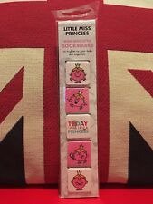 Mr Men & Little Miss Mini Magnetic Bookmark - Little Miss Princess. New, Gift