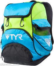 TYR Alliance Team Mini Backpack TYR Backpacks - Blue and Green
