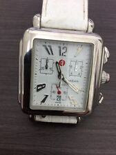Steel Chrono Watch Pre Owned L@K Michele Urban 71-604 Stainless