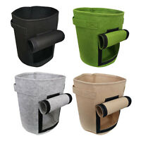 Plant Grow Pots Bags Breathable Planter Container for Potato Tomatoes Garlic