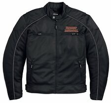 Harley-Davidson Motorcycle Jacket Burning Skull Mesh Black 98238-13VM / M