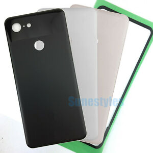 """New Housing Rear Back Battery Cover Glass For 5.5"""" Google Pixel 3 G013A"""