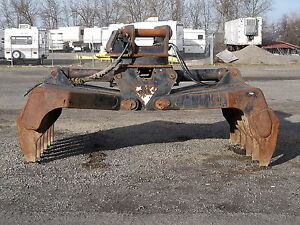 "Jewell 84"" Hydraulic Rotating Brush Grapple"