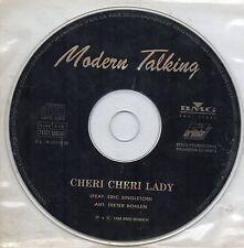 MODERN TALKING - Cheri Cheri Lady , CD SG PROMO SPAIN 1998