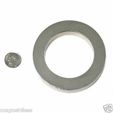 1 Strong 3 ODx 2 IDx 1/2 Inch Rare Earth Neodymium Ring Magnet Grade N42